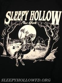 Sleepy Hollow Black Tee Shirt