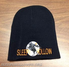 SLEEPY HOLLOW BLACK NO CUFF FRONT VIEW