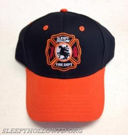 SLEEPY HOLLOW FD HAT STYLE #1 FRONT VIEW