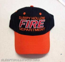 SLEEPY HOLLOW FD HAT STYLE #2 FRONT VIEW