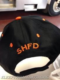 SLEEPY HOLLOW FD HAT  BACK VIEW