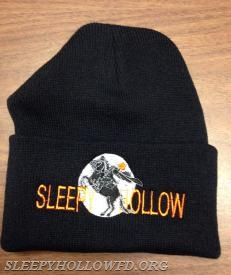 SLEEPY HOLLOW BLACK WITH CUFF FRONT VIEW