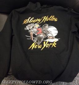 SLEEPY HOLLOW HOODED SHIRT $30.00