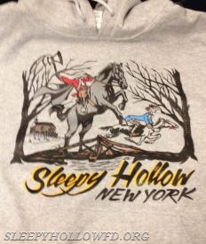 SLEEPY HOLLOW NY HOODED SHIRT $30.00